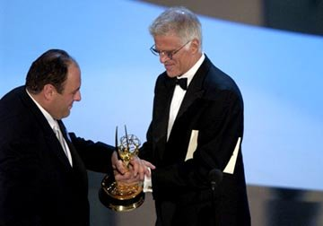 James Gandolfini, Ted Danson 55th Annual Emmy Awards - 9/21/2003