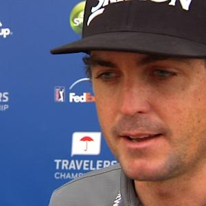 Keegan Bradley interview after Round 1 of Travelers