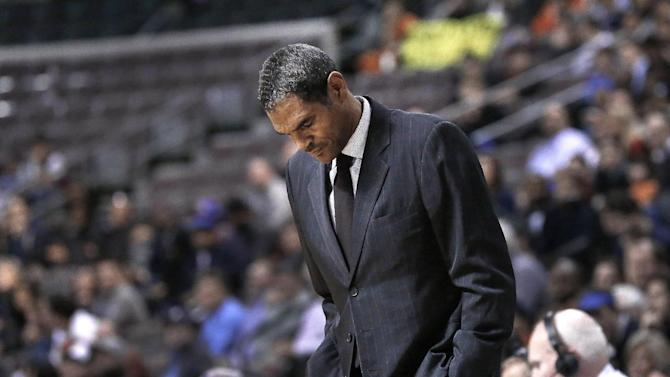 Pistons fire coach Maurice Cheeks