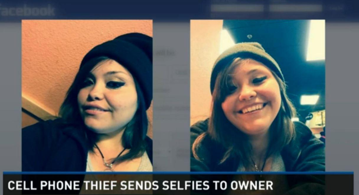 Apparent iPhone thief reveals face to world with selfie-shooting streak
