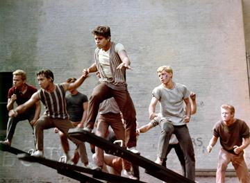 A scene from United Artists' West Side Story