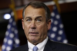 Boehner suffers major 'fiscal cliff' setback