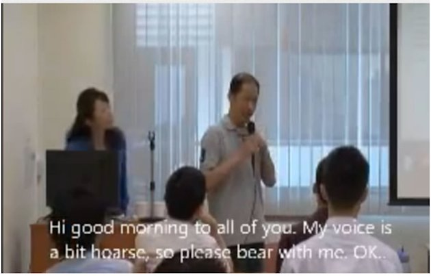 The video of the late Dr Richard Teo giving a speech to medical students goes viral.