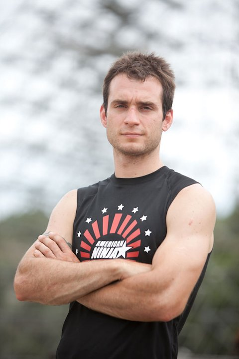 Travis Furlanic in &quot;American Ninja Warrior.&quot; 