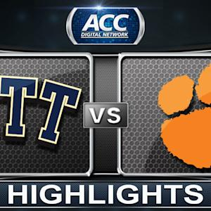 Pittsburgh vs Clemson | 2014 ACC Basketball Highlights