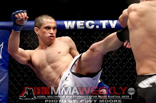 Top Flyweights Chris Cariaso and John Moraga Battle at UFC 155 in Las Vegas