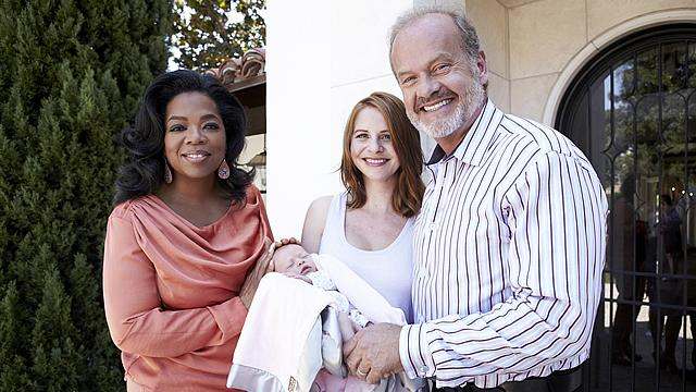 Kelsey Grammer's New Baby Girl Revealed