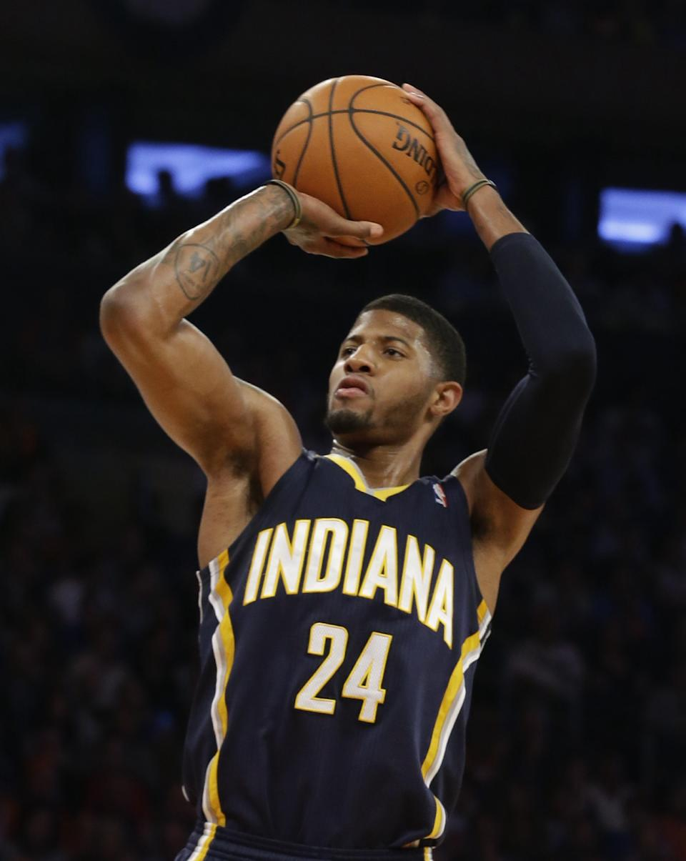 Pacers' future looks bright after signing George