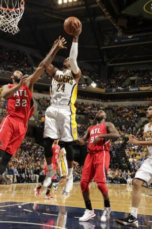 George leads Pacers past Hawks 113-98 for 2-0 lead