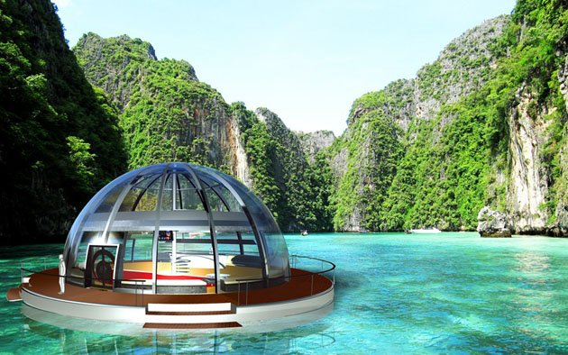 Floating homes of the future