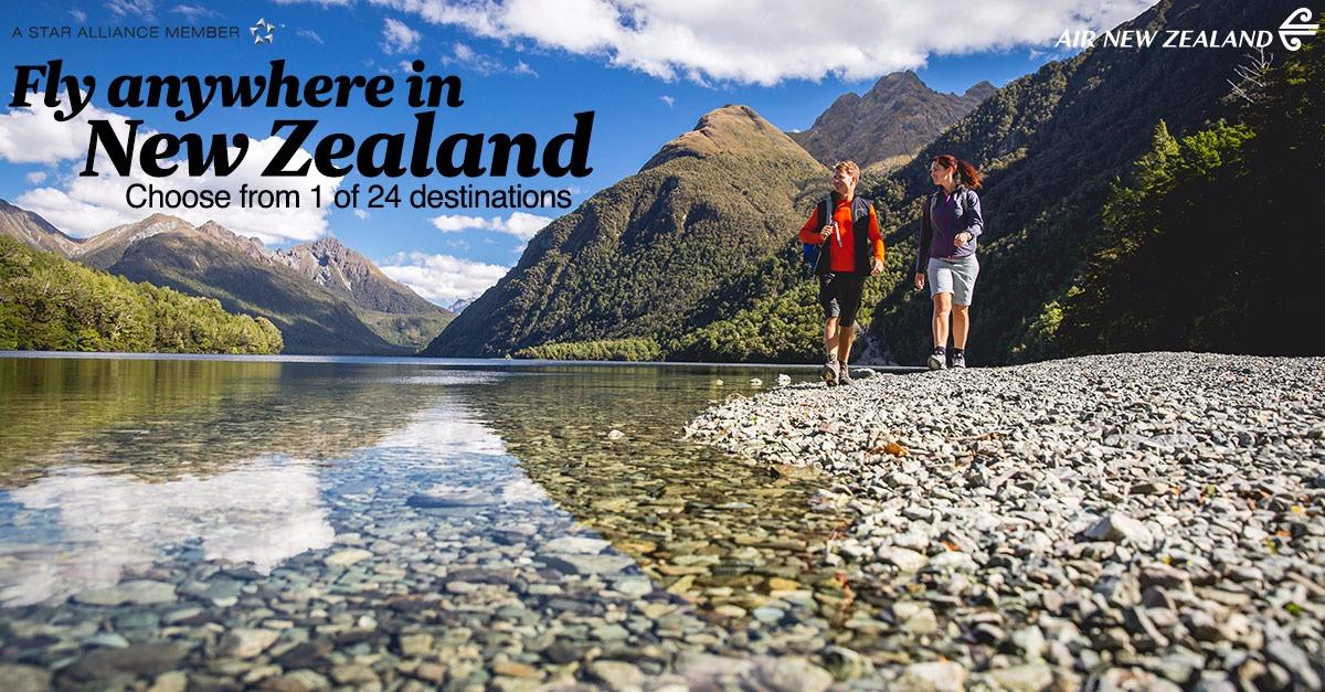 New Zealand: Now even easier to get to