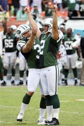 Folk's FG helps Jets beat Miami 23-20 in OT