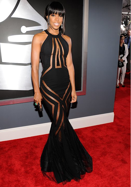 The 55th Annual GRAMMY Awards - Red Carpet: Kelly Rowland
