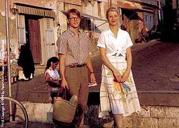Matt Damon and Gwyneth Paltrow in The Talented Mr. Ripley