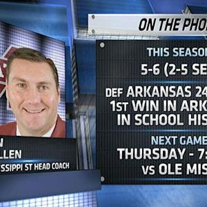 Dan Mullen talks QB situation, Egg Bowl