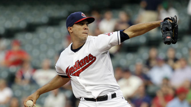 Jimenez, 3 homers lead Indians past Royals 4-3