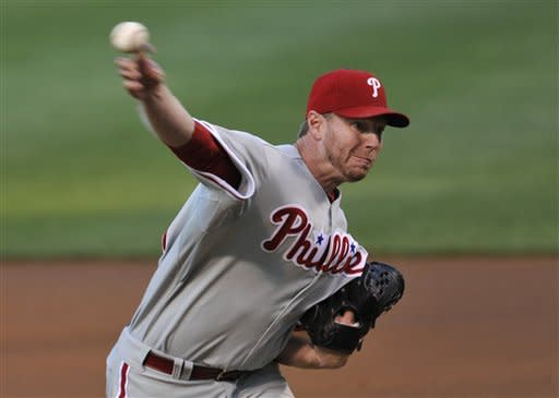 Halladay earns first win in a month