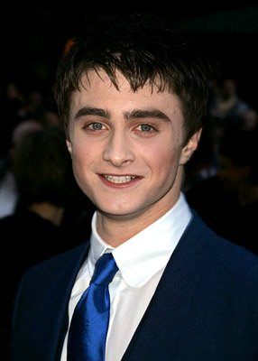 Daniel Radcliffe at the NY premiere of Warner Bros. Pictures' Harry Potter and the Goblet of Fire