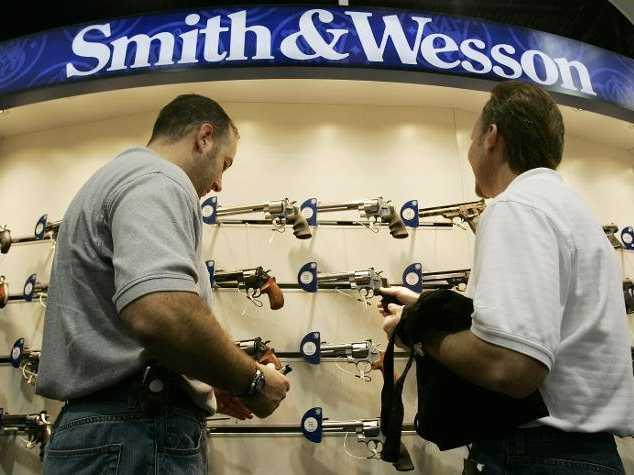 Smith & Wesson investors are celebrating today