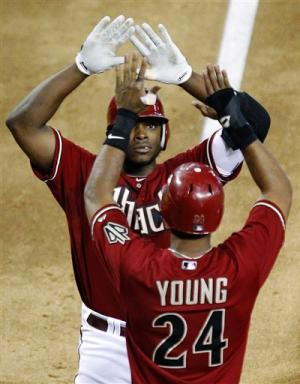 D-backs hit 6 homers in 14-10 win over Seattle