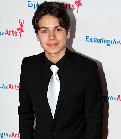 Jake T. Austin at the Tony Bennet Birthday Gala 2011.