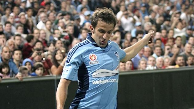 Football A-League 2012-2013 Alessandro Del Piero