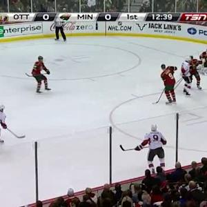 Devan Dubnyk Save on Eric Gryba (07:22/1st)