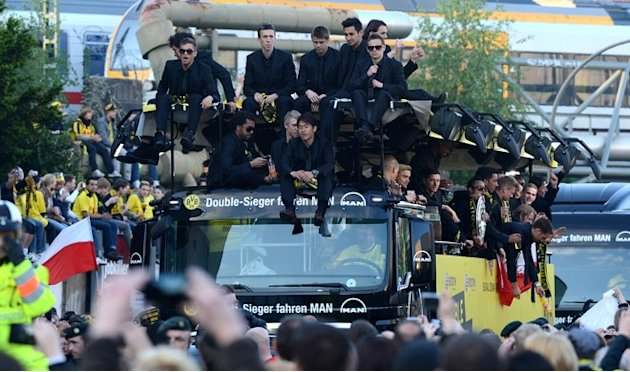 The Team Of German Soccer Champions AFP/Getty Images
