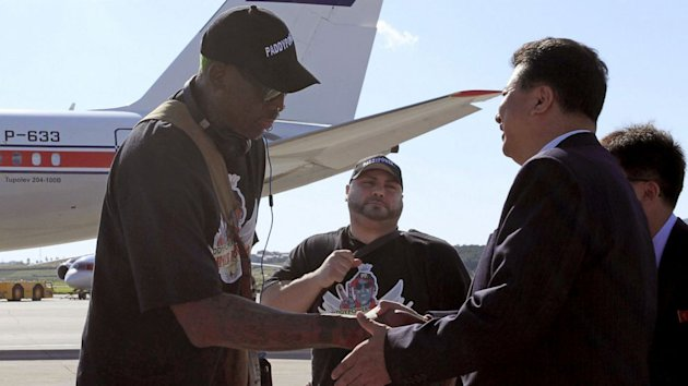 Dennis Rodman Is Best Hope for American Jailed in North Korea, Family Says (ABC News)
