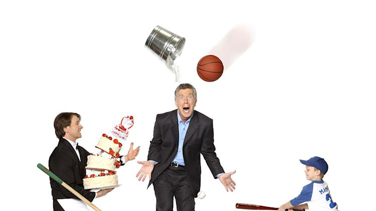 "Tom Bergeron hosts ""America's Funniest Home Videos."""