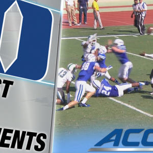 Duke's Spectacular Touchdown on Special Teams | ACC Must See Moment