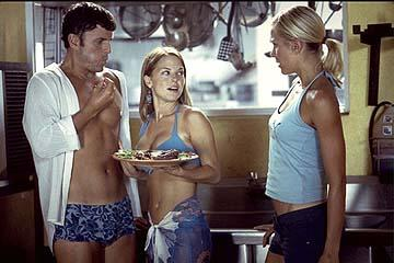 Steve Lemme , Jordan Ladd and Brittany Daniel in Broken Lizard's Club Dread