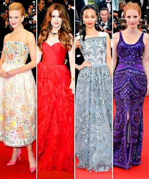 Nicole Kidman, Jessica Chastain, and Others: Who Was Best Dressed at Cannes?