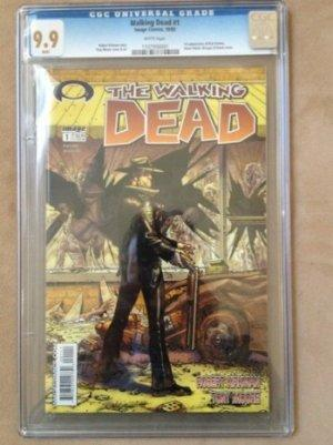 'The Walking Dead' No. 1 Sells for $10,000 on eBay