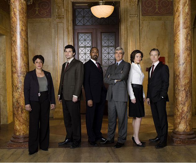 "The cast of ""Law & Order."""