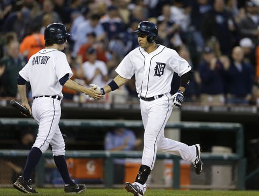 Tigers chase Moore early in 10-1 win over Rays
