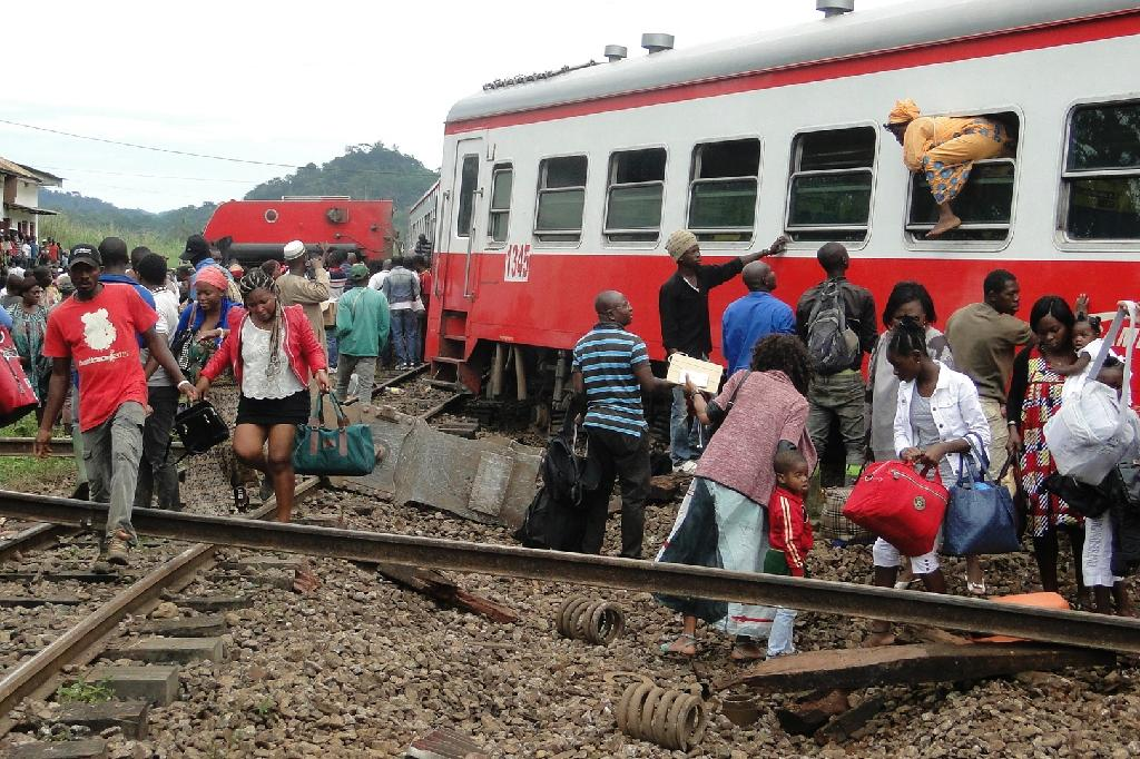 Cameroon train was going 'abnormally' fast before crash: company