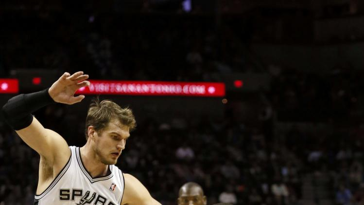 NBA: Charlotte Bobcats at San Antonio Spurs