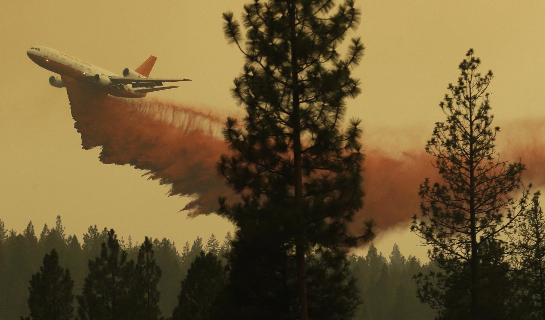 Firefighters holding their own against giant wildfire