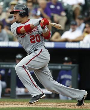 Zimmerman homers, Nationals beat depleted Rockies