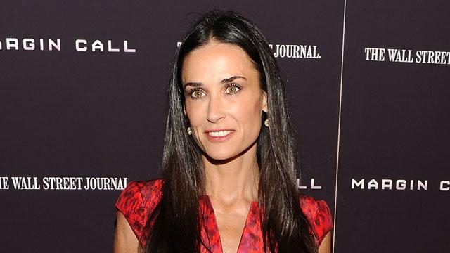 Report: Demi Moore Checks into Rehab