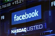 Facebook stock dips to new low