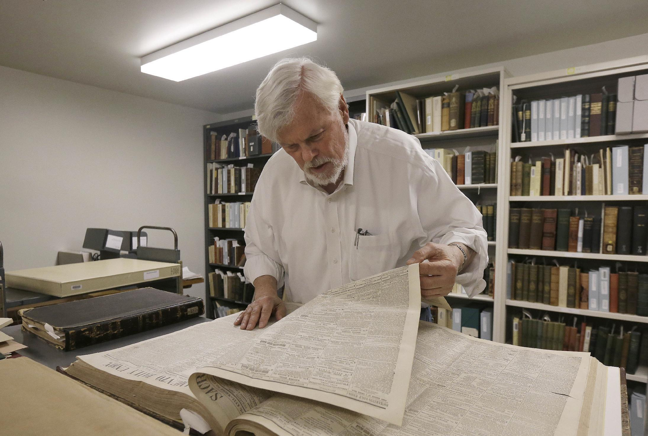 UC Berkeley's Mark Twain project finds cache of new writing