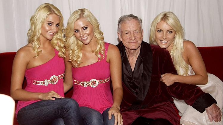 Hefner Hugh Girls Mansion Prty