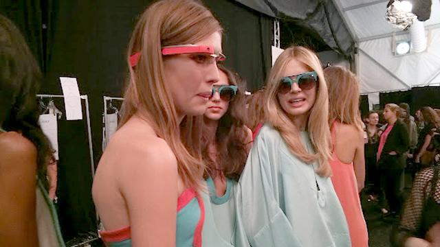 Google Glass At New York Fashion Week