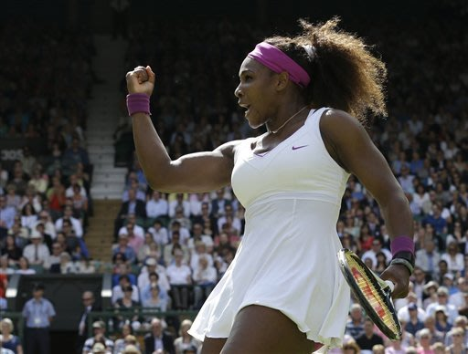 Serena to face Radwanska in Wimbledon final