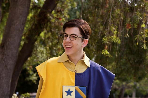 Christopher Mintz-Plasse Role Models Production Stills Universal 2008