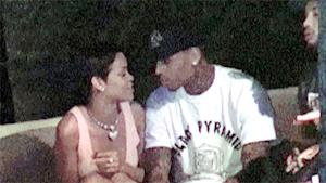 Rihanna and Chris Brown Party in Beverly Hills