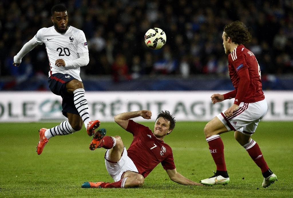 Lacazette on target in France victory