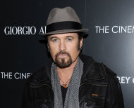 FILE - This Dec. 13, 2011 file photo shows singer Billy Ray Cyrus attending a special screening of &quot;Albert Nobbs&quot; at the Museum of Modern Art in New York. Cyrus is making his Broadway debut in &quot;Chicago.&quot; The singer of &quot;Achy Breaky Heart&quot; and father of Miley Cyrus is detouring from his Nashville roots in taking on the role of criminal lawyer Billy Flynn for a seven-week engagement beginning Nov. 5. (AP Photo/Evan Agostini, file)